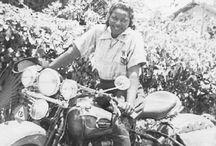 Pioneer Motorcycle Girls