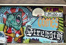 Fav Street Art / by Robb Lejuwaan