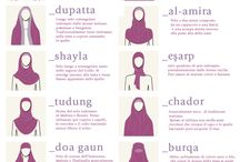 Headscarf / All types of head coverings, from the traditional muslim hijab, turbans, jewish or Christian veils, etc.