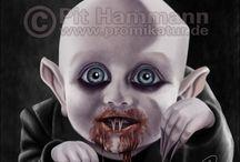 Creepy but kinda Cute