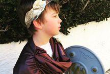 disfraz de romano niño. Sandalias romanas