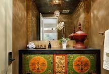 Tibet inspired room