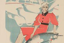 Aviation Vintage Advertising