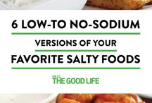 Low sodium savoury snacks.