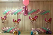 carusel baloon theam