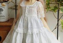 bjd doll dress