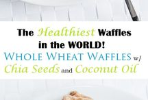 Waffles, Pancakes, Crepes etc