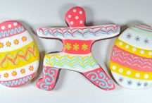 Easter / Easter cookie design for inspiration. / by Yummi Yogi