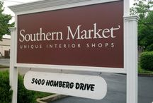 Southern Market / Decorate with distinctive furnishings and stylish accessories chosen from more than 40 shops. From the friendly garden through the gracious entrance come stroll the shop-lined avenues of the Southern Market. southernmarketshops.com