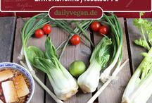 Vegan und Asiatisch / Leckere asiatische Rezepte und Kochideen von dailyvegan.de Vietnamesisch, Thailändisch, Indisch, Chinesisch, Koreanisch, Japanisch und Euroasiatisch.