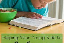 Bible study:  kids at home