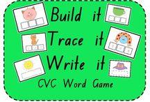 Kindergarten Word Family/CVC Games