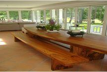mesa de madera de suart