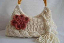 lanas / tejidos a crochet y palillo / by Iris Elena