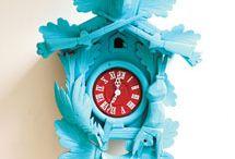 Cuckoo clocks / I have a small obsession with steampunkish clocks!
