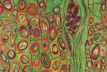 Hidden Beauty / Art fabric class inspiration image