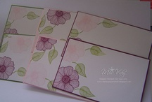 Stampin' Up! - Note Cards / Samples and ideas using note cards