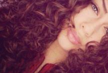 Beautiful Natural Curly Hair