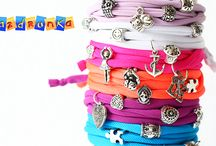 Bracelets / handmade bracelets with Pandora style accesories