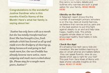 Newsletter Templates / A collection of newsletter templates created for clients