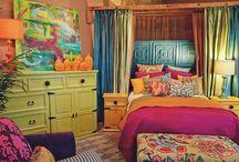 Morrocane inspired decor/Bohemian / Bedroom