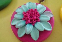 Polymer Clay Crafting / jewelry,  earrings,  pins,  pendants  / by Deb CarterDay
