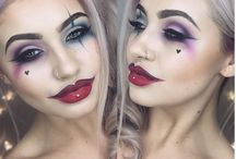 Harley Quinn make-up