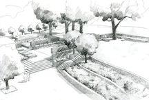 Graphisme jardins
