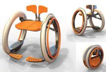 Mobi electric folding wheelchair - how cool is this: