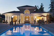 Pool House Plans / Backyard Pool House Plans