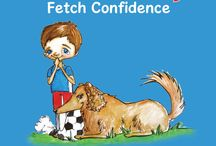 """Kids' Book Reviews by Michael and friends, age 5 to 13 / Michael, co-author of the dog picture book """"Bash and Lucy Fetch Confidence,"""" and his friends age 5 to 13 do video reviews of other dog picture books for kids  More about his blog: www.BashAndLucy.com/blog #kids' book reviews #kids #books #book reviews by kids"""