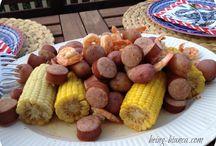 Summer Dinners / Lighter fresher food ideas for hot summer days