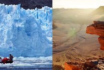 Go to Extremes / Win a trip for two to South America from Adventure.Travel partners LAN Airlines, Turismo Chile and Marmot: five days aboard an expedition ship, exploring Chile's glaciers, then hiking and cycling in the Atacama desert. Enter here: http://bit.ly/1Bf1hpv