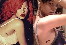 Rihanna's tattoos