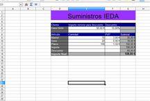 hoja de Cálculo Open Office  / Esta tarea me ha parecido muy interesante para poder llevar un buen control de las cosas a través de una simple hoja de cálculo