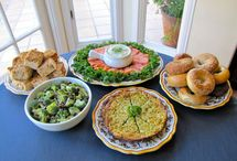Yom Kippur pre-fast and break fast / recipe ideas for the meal before Yom Kippur and the break fast