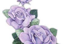 Blommor som ram