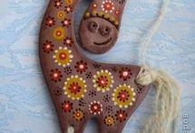 keramika - zvířata
