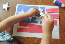 Montessori 4th of July Fun