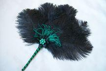 Fan in Teal Mint Turquoise