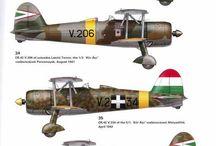 Repülőgép festések.