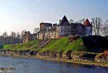 Castelli-Bauska / Immagini della Fortezza di Bauska, Lettonia