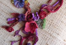 jewellery/embellishments crochet
