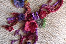 jewellery/embellishments crochet
