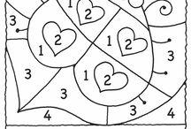 dibujos por numeros