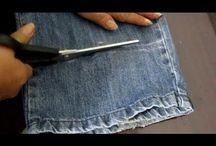 reducir largo de pantalón vaquero
