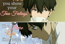 `*:;,★ Anime Quotes~☆・:.,;*