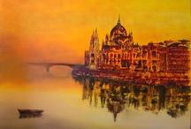 Inspiration artistique mussipontaine / Les œuvres des talentueux artistes de l'Association des Artistes Mussipontains (ville de Pont-à-Mousson)