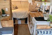 Self built caravan