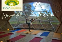 New Yoga Dome / EcoCamp's yoga dome comes brand new to EcoCamp for our 2013/14 season! We are very happy to welcome yoga instructor Betty del Angel who will be leading hatha and kundalini yoga sessions each evening as well as stretching classes and fusion dance!